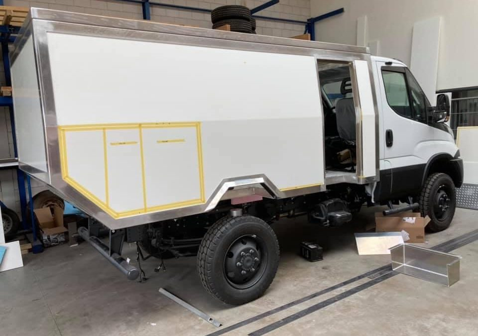 New project: Iveco Daily 4X4